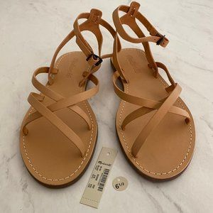 NWT Madewell Womens Summer Sandals : Size 6.5